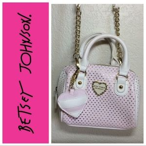 Handbags - NWOT💋Betsey Johnson crossbody mini satchel purse